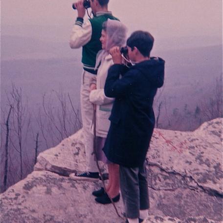 Hawk Mountain, Pennsylvania (circa 1967)